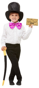 Child's Willy Wonka Fancy Dress Costume Kit