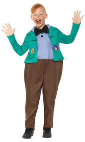 Boys Augustus Gloop Fancy Dress Costume