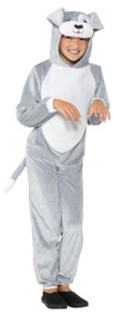 Childs Grey Dog Fancy Dress Costume