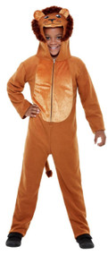 Childs Wild Lion Fancy Dress Costume