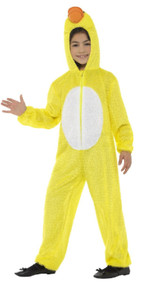 Childs Yellow Duck Fancy Dress Costume