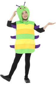 Childs Caterpillar Fancy Dress Costume