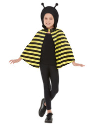 Childs Bumble Bee Fancy Dress Cape
