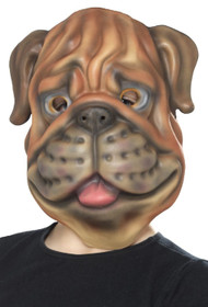 Childs Dog Fancy Dress Mask