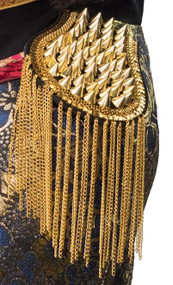 Ladies Gold Studded Epaulettes