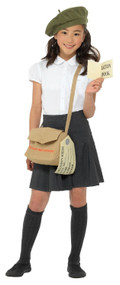 Childs Evacuee Fancy Dress Costume Kit
