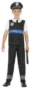 Boys Traditional Police Officer Fancy Dress Costume