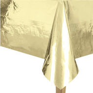 Metallic Gold Foil Party Tablecover