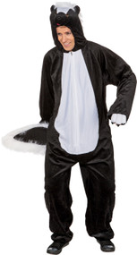 Adult Skunk Fancy Dress Costume