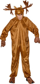 Adult Reindeer Fancy Dress Costume