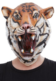 Adults Tiger Fancy Dress Mask