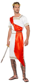 Mens Historical Roman Fancy Dress Costume
