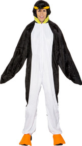 Adult's Penguin Fancy Dress Costume