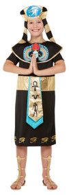 Boys Deluxe Egyptian Fancy Dress Costume