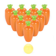 Easter Carrot Bowling Game