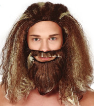 Mens Sea Hero Fancy Dress Wig & Beard
