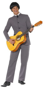 Mens 60s Music Icon Fancy Dress Costume