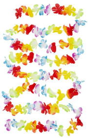 Floral Hawaiian Party Bunting Decoration