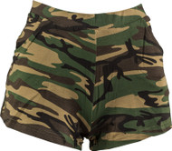 Ladies Army Fancy Dress Shorts