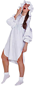 Ladies Adult Baby Night Shirt Fancy Dress Costume