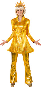Ladies Sun Fancy Dress Costume