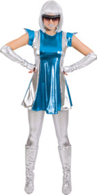 Ladies Time Traveller Fancy Dress Costume