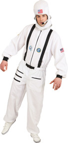 Mens Galaxy Astronaut Fancy Dress Costume