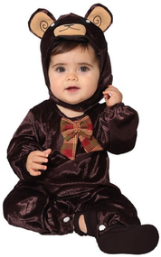 Baby Wild Brown Bear Fancy Dress Costume