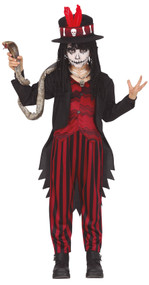 Boys Voodoo Chief Fancy Dress Costume
