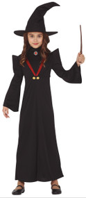 Girls Professor Of Wizardry Fancy Dress Costume