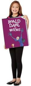 Girls The Witches Book Fancy Dress Costume