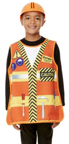 Boys Construction Fancy Dress Costume