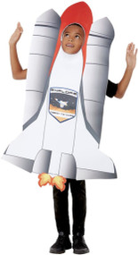 Child's Space Rocket Fancy Dress Costume