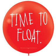 IT Chapter 2 Giant Red Slogan Balloons