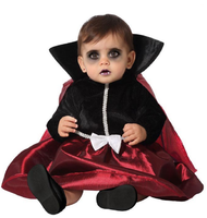 Baby Girls Vampire Queen Fancy Dress Costume