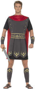 Mens Roman Soldier Fancy Dress Costume 1