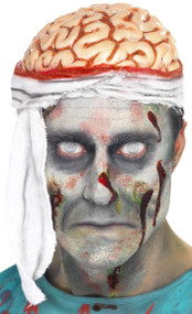 Adult Bandaged Brain Fancy Dress Hat