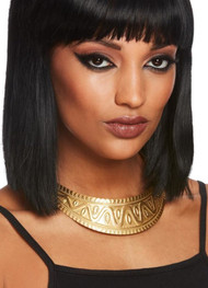 Ladies Chunky Gold Egyptian Necklace