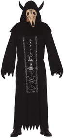 Adult Satanic Worshipper Fancy Dress Costume
