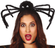 Ladies Giant Spider Halloween Hairband