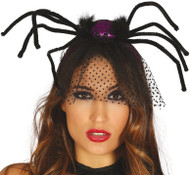 Ladies Veiled Spider Hairband