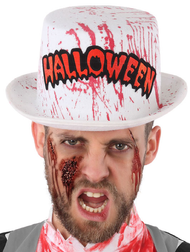 Adults Bloody Halloween Fancy Dress Hat