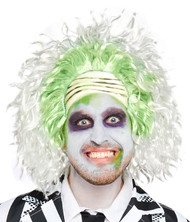 Adults Beetlejuice Fancy Dress Wig