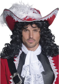 Adult Deluxe Red Pirate Hat