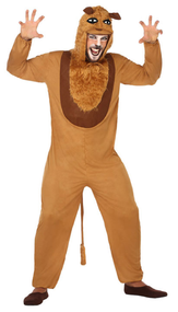 Adults African Lion Fancy Dress Costume