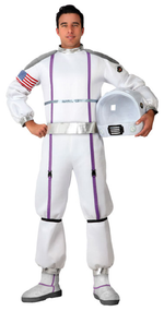 Mens Space Astronaut Fancy Dress Costume