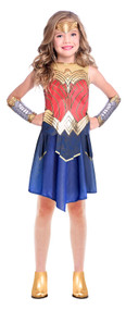 Girls Movie Wonder Woman Fancy Dress Costume