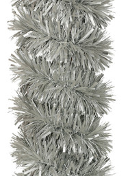 Matt Silver Christmas Tinsel