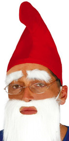 Adult Red Gnome Hat