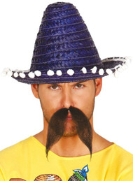 Adult Blue Sombrero Hat
